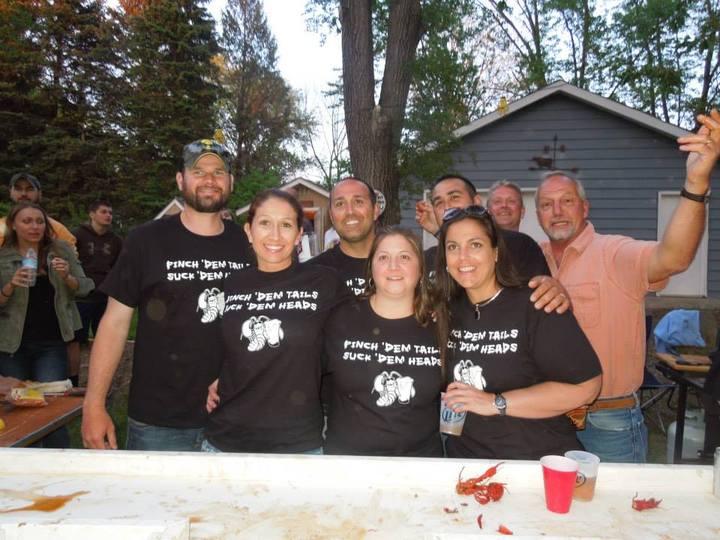 Carone Crawfish Crew T-Shirt Photo