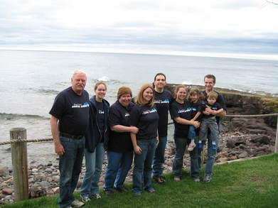 Lake Superior Family Vacation T-Shirt Photo