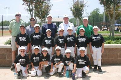 2007 Roswell 8 U All Star Team T-Shirt Photo
