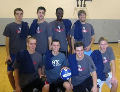 Theta Chi Fall 2007 Psu Im Fraternity Volleyball Champs T-Shirt Photo