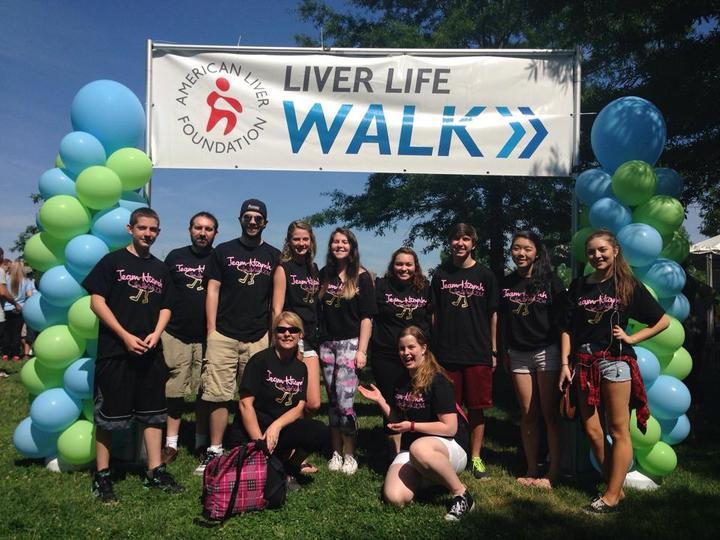 Liver Walk 2014 T-Shirt Photo