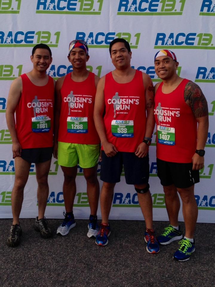 The Q Cousins Run Raleigh! T-Shirt Photo