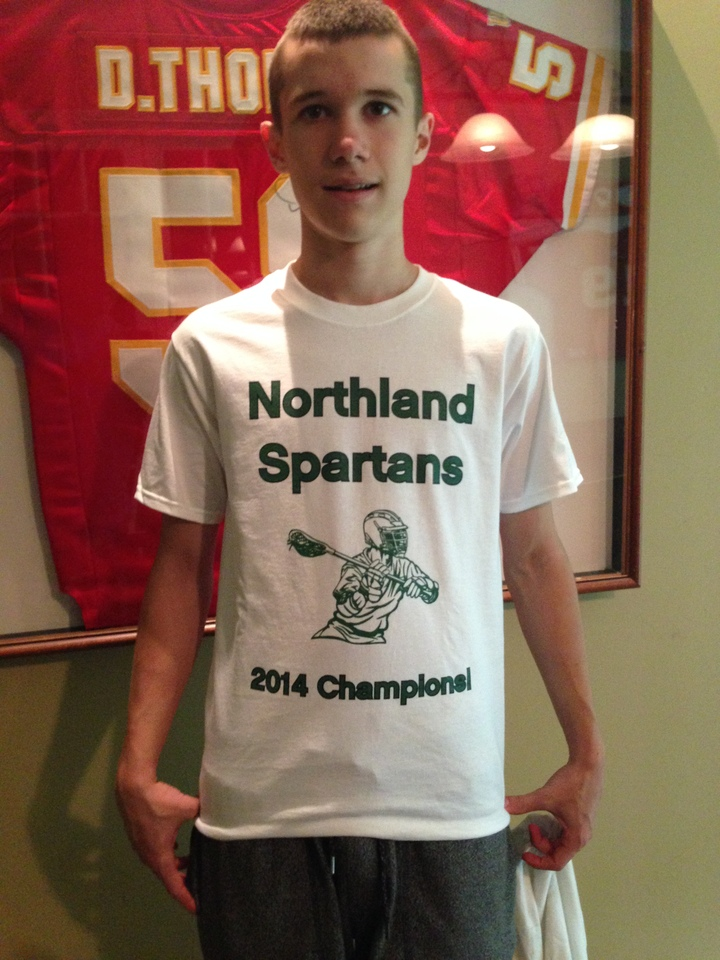 Northland Lax Champs!  T-Shirt Photo