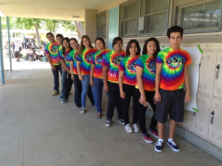 Shs Gay Straight Alliance T-Shirt Photo