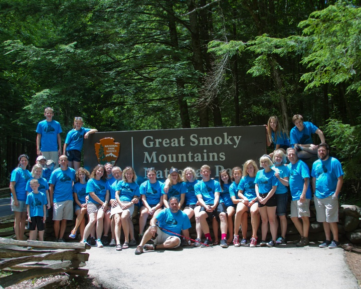 Family Camping 2014 T-Shirt Photo