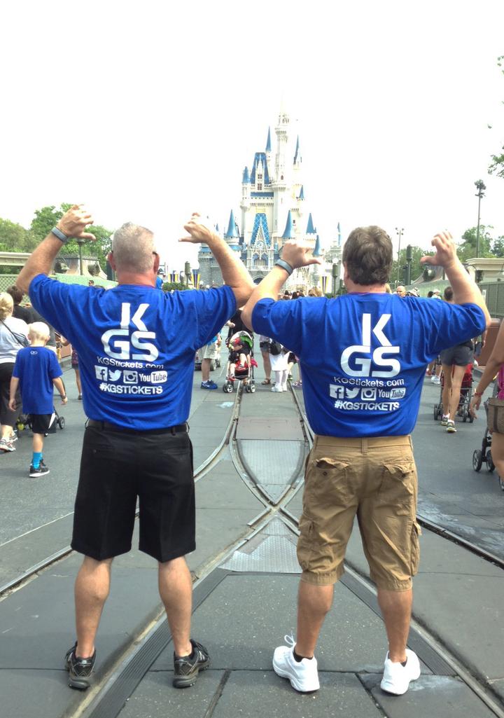 Kgs And Custom Ink Go To Disney World T-Shirt Photo