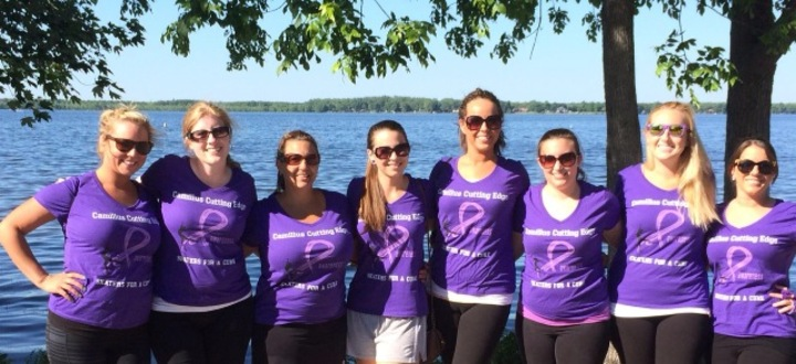 Crohns & Colitis Walk  T-Shirt Photo