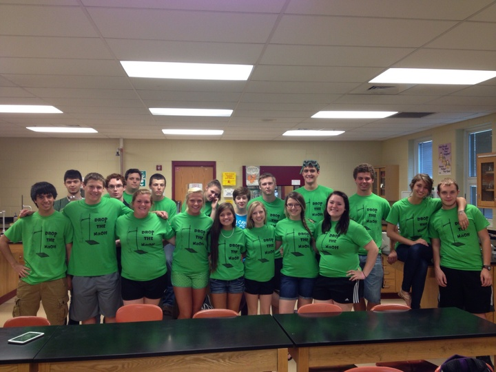 "Ap Chem ""Drops The Base"" T-Shirt Photo"