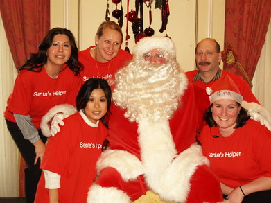 Breakfast With Santa @ Taj Boston T-Shirt Photo