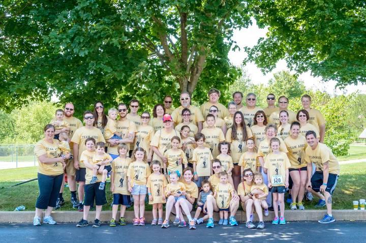 Team Abbie Walkers!  T-Shirt Photo