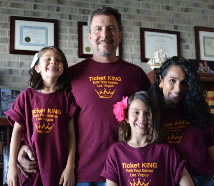 Ticket King (Traffic Ticket Solutions) In Las Vegas! :) T-Shirt Photo