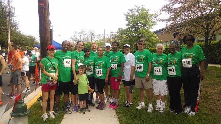 Healthy Lifestyle 5 K Run To Prevent Diabetes T-Shirt Photo