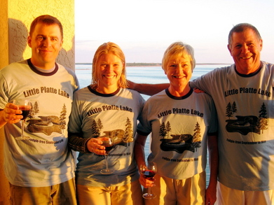 Northern Michigan Cabin Meets Florida T-Shirt Photo