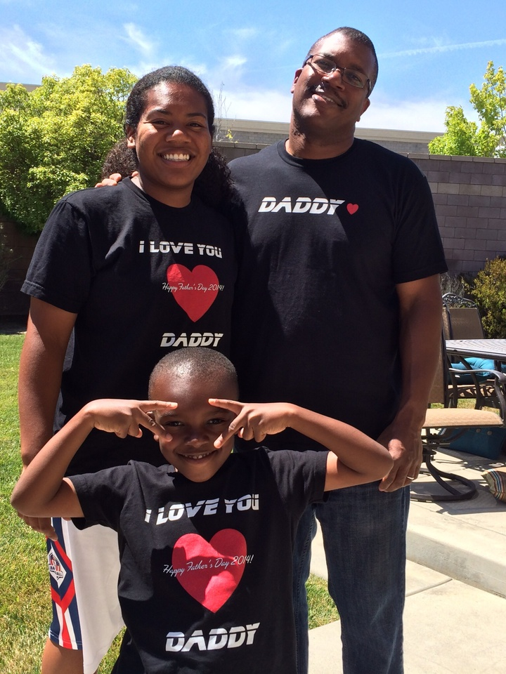 Celebrating Dad! T-Shirt Photo