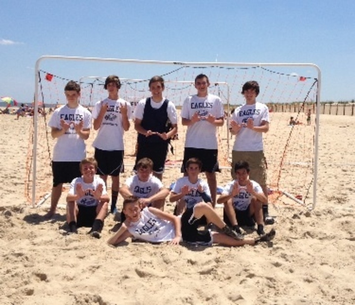2014 Beach Soccer Tournament At Dewey Beach De T-Shirt Photo