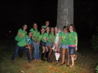 """End Of An Era"" Bachelorette Bash T-Shirt Photo"