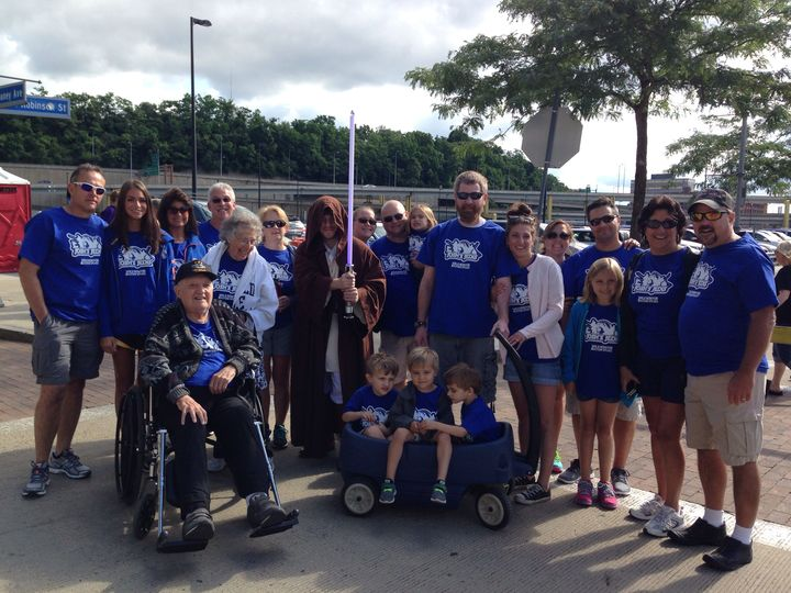 Walk Now For Autism Speaks Pittsburgh 2014 T-Shirt Photo