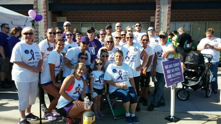 5 K Walk/Run For Pancreatic Cancer T-Shirt Photo