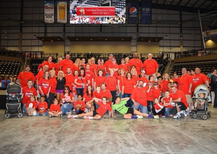 Team Twin Ridge At The 2014 Autism Walk T-Shirt Photo