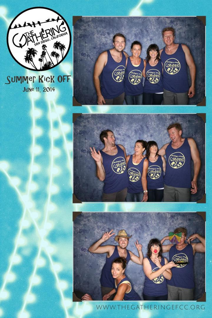 The Gathering Summer Kick Off T-Shirt Photo