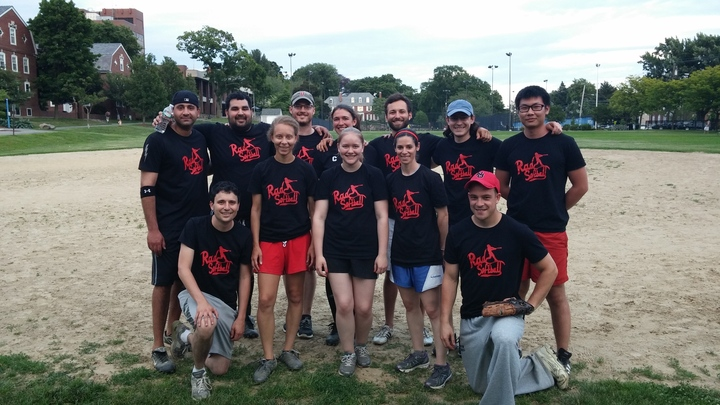 Tufts University Ceeo Rad Softball Team! T-Shirt Photo