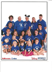 Memom's 6 Oth On The Disney Wonder T-Shirt Photo