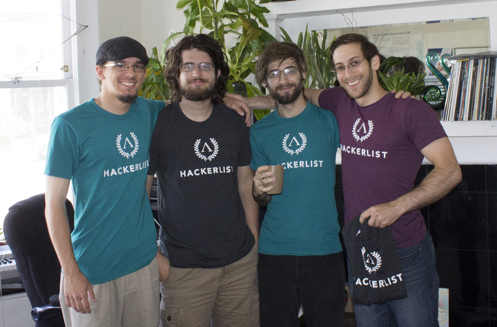 Hackerlist Team Shirts T-Shirt Photo