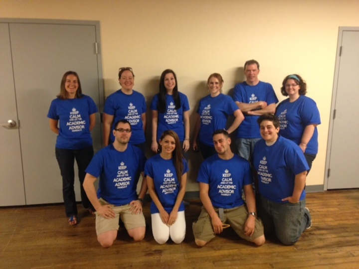 Keep Calm And Let Your Academic Advisor Handle It T-Shirt Photo
