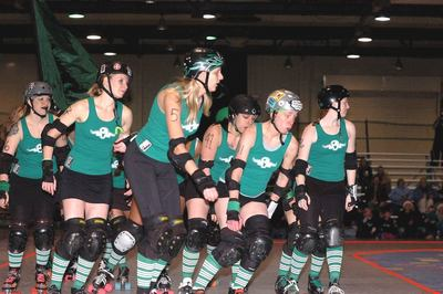 Ohio Roller Girls All Stars!!! T-Shirt Photo