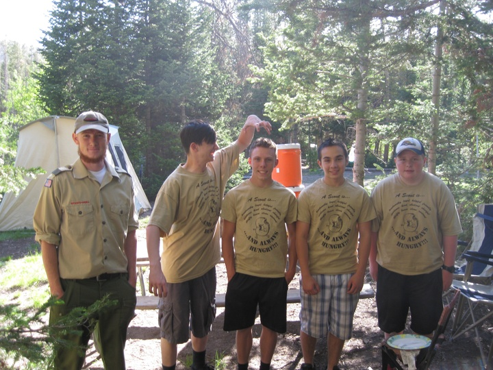 Hungry Scouts! T-Shirt Photo