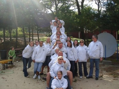 Camp Fatima Volunteers T-Shirt Photo