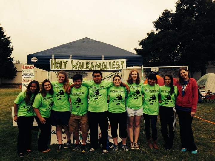 Team Holy Walkamolies At Relay For Life! T-Shirt Photo