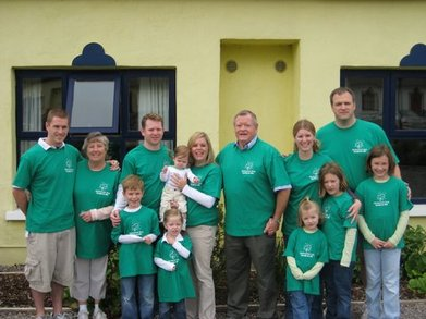 13 Crazy Corcorans In Ireland T-Shirt Photo