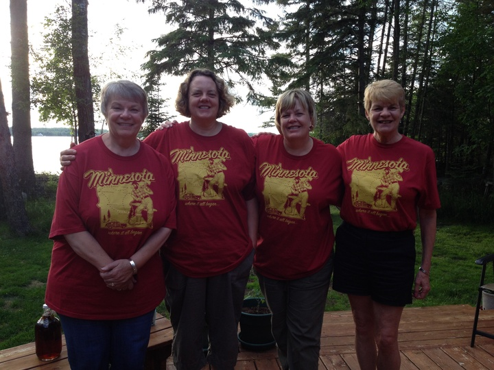 The Kinney Sisters In Northern Minnesota T-Shirt Photo