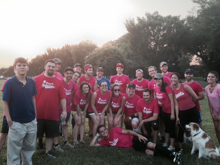 Hayek Splosives Softball! T-Shirt Photo