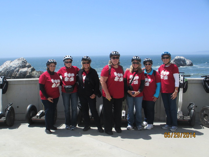 Riding Segways In San Francisco T-Shirt Photo