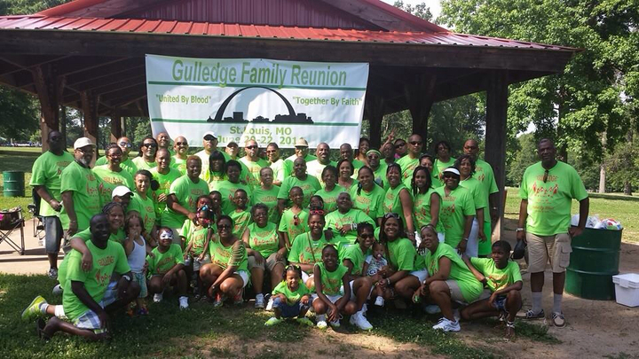 Gulledge Family Reunion T-Shirt Photo