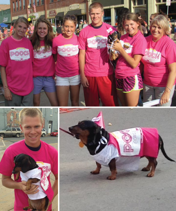 Summer Daze Wiener Dog Races T-Shirt Photo