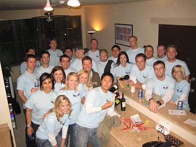 """All Grown Up But We Still Like To Crawl"" Bar Crawl T-Shirt Photo"
