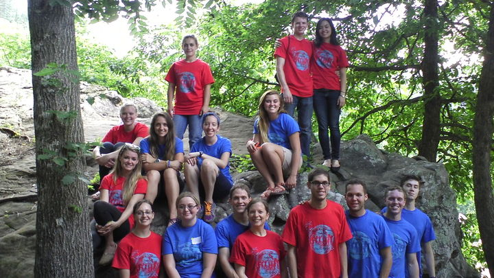 Counselors And Staff Of Youth For Freedom Midwest T-Shirt Photo