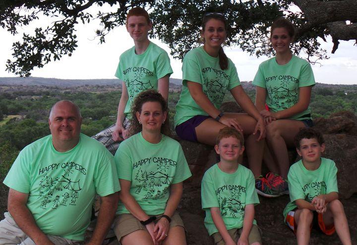 Ink's Lake Family Vacation T-Shirt Photo