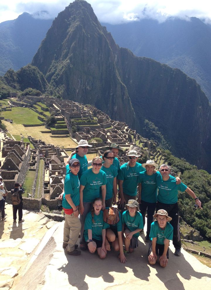 Inca Trail To Machu Picchu T-Shirt Photo
