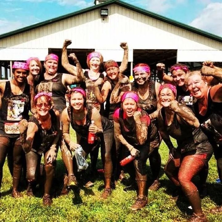 Dirty Girl Mud Run T-Shirt Photo