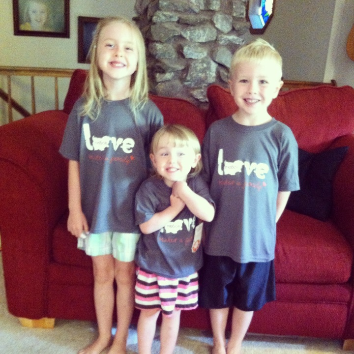 Sharing Love With Orphans T-Shirt Photo