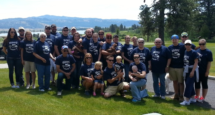 Group Shot At Tamarack Resort T-Shirt Photo