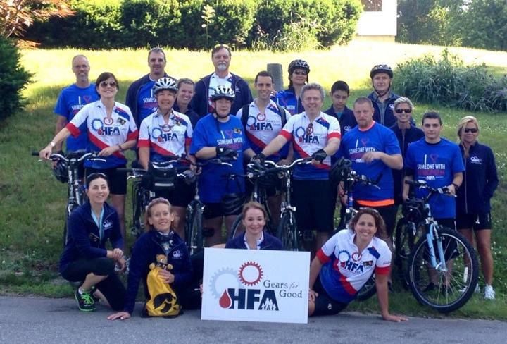 2014 Gears For Good Nh Riders T-Shirt Photo