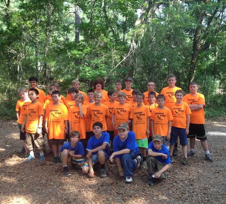 2014 Summer Camp Troop 899 T-Shirt Photo