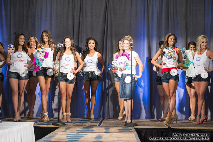 Opening Number Mrs. California® T-Shirt Photo