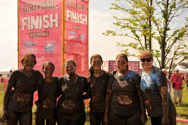 After Dirty Girl Mud Run T-Shirt Photo