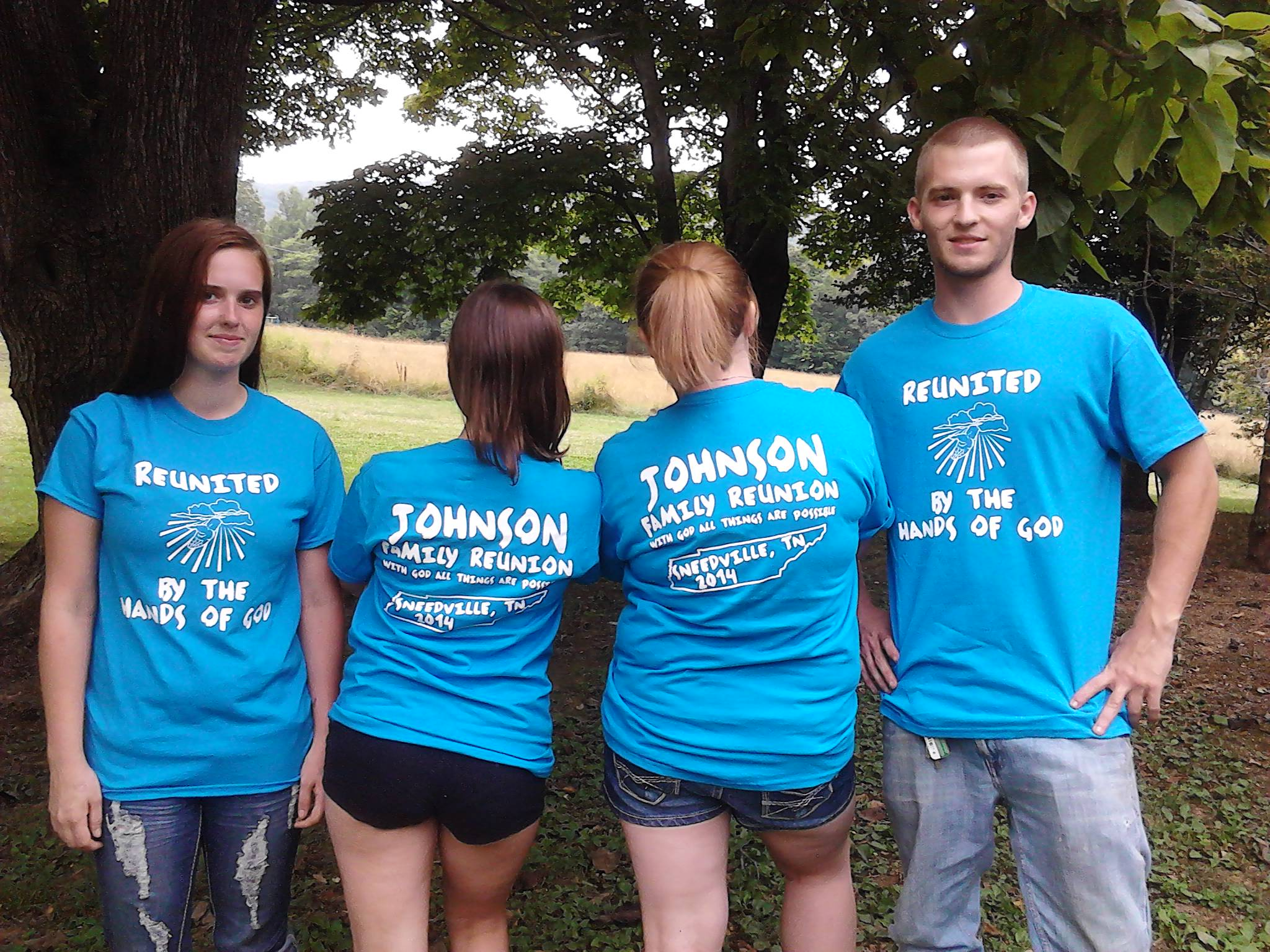 Custom T Shirts For Johnson Family Reunion Shirt Design Ideas